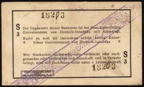 R.929t: Deutsch-Ostafrika 1 Rupie 1916 S3 (2)