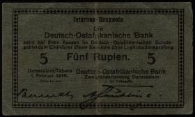 R.933c: Deutsch-Ostafrika 5 Rupien 1916 (2-)