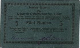 R.933e: Deutsch-Ostafrika 5 Rupien 1916 (1)