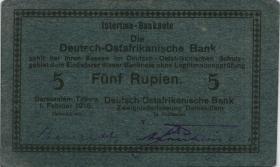R.933e: Deutsch-Ostafrika 5 Rupien 1916 F (2)