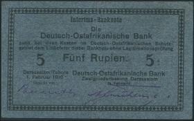 R.933F: Deutsch-Ostafrika 5 Rupien 1916 (2)