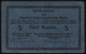 R.933F: Deutsch-Ostafrika 5 Rupien 1916 (3+)