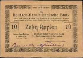 R.935a: Deutsch-Ostafrika 10 Rupien 1916 (1-)