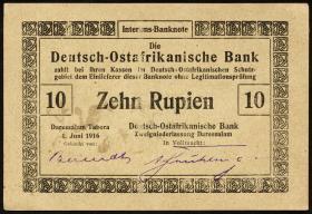 R.935a: Deutsch-Ostafrika 10 Rupien 1916 (1/1-)