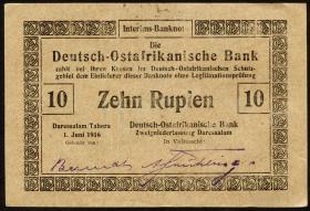 R.935a: Deutsch-Ostafrika 10 Rupien 1916 (2)