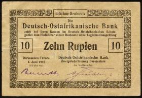 R.935a: Deutsch-Ostafrika 10 Rupien 1916 (3)