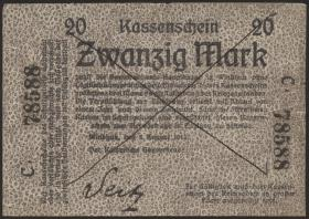 R.944: Deutsch-Südwestafrika 20 Mark 1914 (4)