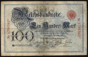 R.009: 100 Mark 1883 (3-)