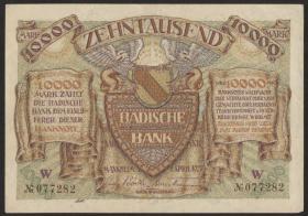 R-BAD 09b: 10000 Mark 1923 (1-)