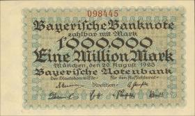 R-BAY 12: 1 Mio. Mark 1923 (1)
