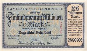 R-BAY 14: 25 Mio. Mark 1923 (1)