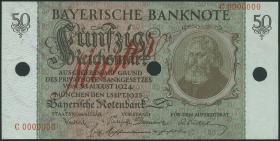 R-BAY 25M3: 50 Reichsmark 1924 MUSTER (1)