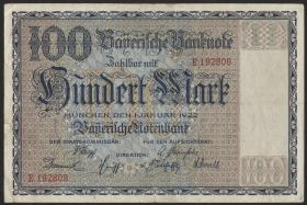 R-BAY 04: 100 Mark 1922 (3+)