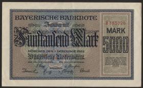 R-BAY 06: 5000 Mark 1922 (3+)