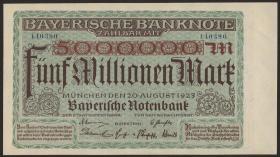 R-BAY 13a: 5 Mio. Mark 1923 (1)