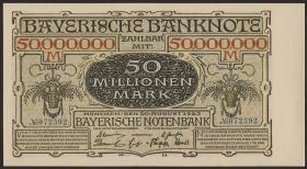 R-BAY 15: 50 Mio. Mark 1923  (1/1-)