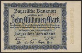R-BAY 16: 10 Mio. Mark 1923 (1)