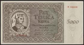 Kroatien / Croatia P.14a 5000 Kuna 1943 (1)