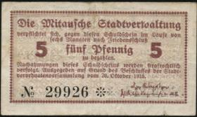 Lettland / Latvia LE 33: 5 Pfennig 1915 Mitau (3)