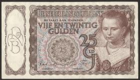Niederlande / Netherlands P.060 25 Gulden 1944 (2)