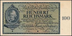 R-SAX 27M: 100 Reichsmark 1924 (1)