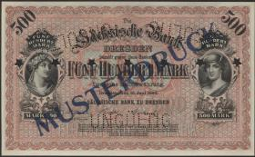 R-SAX 07M: 500 Mark 1890 Muster (1)