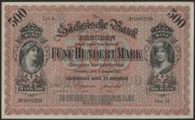 R-SAX 09a: 500 Mark 1911 (2/1)