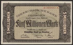 R-SAX 17: 5 Mio. Mark 1923 (1/1-)