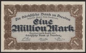 R-SAX 19f: 1 Mio. Mark 1923 (1)