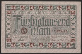 R-WTB 14: 50000  Mark 1923 (1-)
