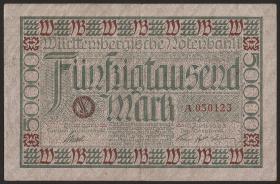 R-WTB 14: 50000  Mark 1923 (3+)