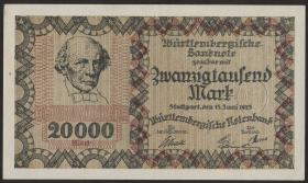 R-WTB 15: 20000  Mark 1923 (1-)