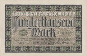 R-WTB 16: 100.000  Mark 1923 (1/1-)
