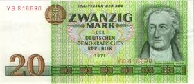 R.362b 20 Mark 1975 Ersatznote YB (2)