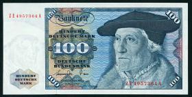 R.278b 100 DM 1977 ZE Ersatznote (1/1-)