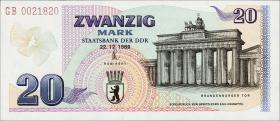 R.366 DDR 20 Mark 1989 Brandenburger Tor (1)