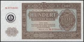 R.378d 100 Mark (1955) Militärgeld Serie YA (1)