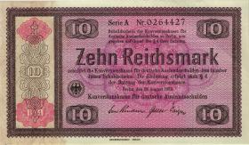 R.709b: Konversionskasse 10 Reichsmark 1934 (1/1-)