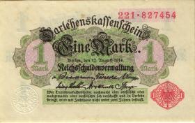 R.051a: 1 Mark 1914 Serie 1-240 (1/1-)