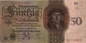 R.170a: 50 Reichsmark 1924 M/E (3)
