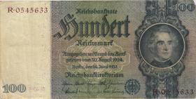R.176F: 100 Reichsmark 1935 braune KN (3)
