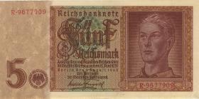 R.179b: 5 Reichsmark 1942 8-stellig (2)
