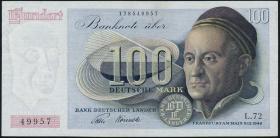R.256 100 DM 1948 Bank Deutscher Länder L.72 (2)