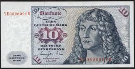 R.275b 10 DM 1977 YE-B Ersatznote (1/1-)