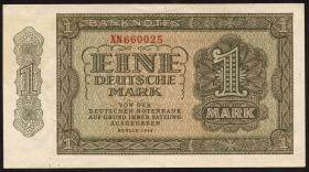R.340c 1 DM 1948 XN Ersatznote 6-stellig Serie XN (1/1-)