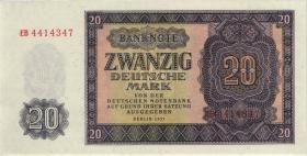 R.351a 20 Deutsche Mark 1955 EB (1)