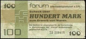 R.372b 100 Mark 1979 Forum Ersatznote (3-)