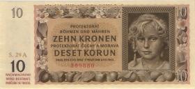 R.562b: Böhmen & Mähren 10 Kronen 1942 A Specimen (1)
