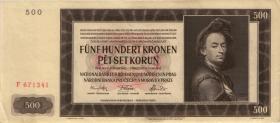 R.565a: Böhmen & Mähren 500 Kronen 1942 (2)