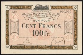 R.863d: Rheinland 50 Francs (1923) Specimen (1/1-)